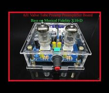 DIY Kits 6J1 Valve Tube Preamp Preamplifier Board Bass on Musical Fidelity X10-D