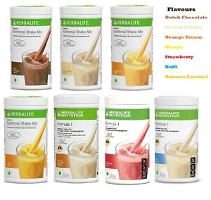 HERBALIFE Formula 1 Healthy Meal Replacement Nutritional Shake 500 gm
