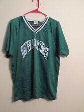 Hartford Whalers NHL Team vintage soccer style mesh jersey size Large