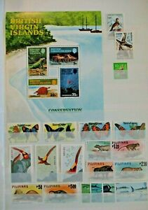 EARLY LOT SET WILDLIFE VF MNH B27.17 START $0.99