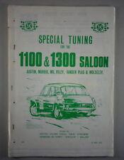 Tuning + Einstelldaten Austin 1100/1300