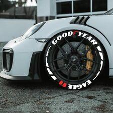 "Tyre Stickers Goodyear Eagle F1 + Leaf Blade  16""-22"" Wheels 1.00"" inch 16 pcs"