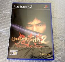 VINTAGE#PS2 PLAYSTATION 2 ONIMUSHA 2 Samurai Destiny   #PAL ITA SEALED SIGILLATO