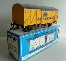 Marklin Wagon Covered Lowenbrau Track 1 Ref 5860 Mint Original Box