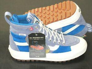Vans Women's Sk8-Hi Mte 2.0 Dx All Weather Boots Blue Block Marshmallow Size 9