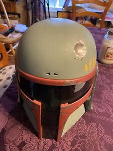 2009 Hasbro Star Wars Boba Fett Helmet NO ANTENNA -works