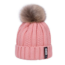 Fashion Women Cotton Knitted Hat Adjustable Soft Beanies Winter Caps Sport Hats