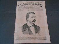 1873 PARDO PRESIDENTE PERU' ZINGARI PALISSY PROGETTO PONTE DOVER E CALAIS