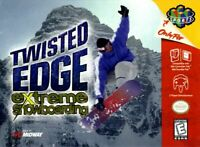 Twisted Edge Extreme Snowboarding - 1998 Midway - Nintendo 64 N64