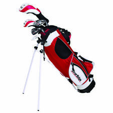 "Tour Edge HT Max-J Left-Handed Junior Golf Set, Ages 5-8 (3'3"" to 4'3""), Red Bag"