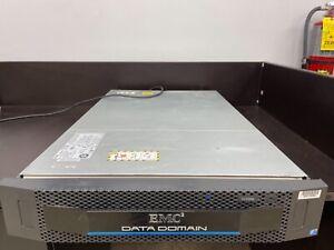 EMC Data Domain DD2500 Storage Array Deduplication E5-2660 32GB No Hard Drive