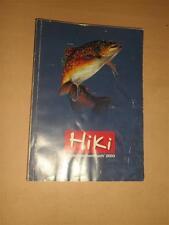 old HIKI fishing Catalog Katalog 2003 Shimano Abu Garcia Penn Reels Roods Tackle