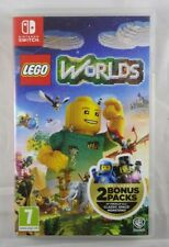BOX ONLY - Lego Worlds - Switch