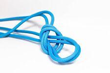 6m 3x1,5mm² Premium Textilkabel Blautürkis Top EU Qualität Stoffkabel Design