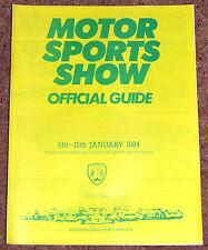 1984 MOTOR SPORTS SHOW GUIDE London (BRSCC)