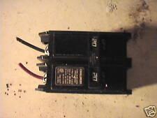 Used Challenger C  type 220 double pole circuit breaker