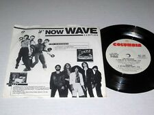 "7"" 33 RPM EP W/PIC SLEEVE Various Artists NOW WAVE SAMPLER Columbia NM- Promo"