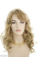 Honey Ash Blonde Blonde Long Skin Top Wavy Wigs