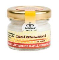Regenerative Anti Aging Night Face Cream Wrinkles Royal Jelly Honey Vitam A & E