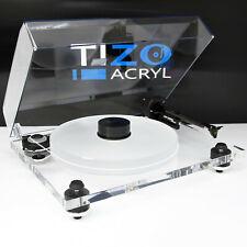 NEU PRO-JECT 2Xperience Acryl mit ORTOFON 2M Black DELTA DEVICE Acrylteller Puck