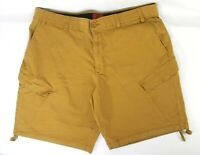 The Foundry Supply Co Mens Size 48 Cargo Shorts Brown Bottom Drawstring Hiking