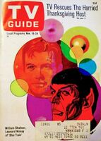 TV Guide 1967 Star Trek Leonard Nimoy Spock William Shatner Kirk #764 VG COA