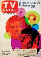 TV Guide 1967 Star Trek Leonard Nimoy Spock William Shatner Kirk #764 VG COA