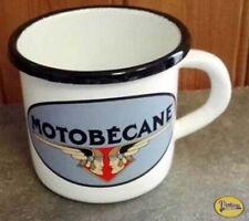 Tasse - Chope - Mug Tole Emaille Ancien Logo Motobecane - Mobylette - MBK