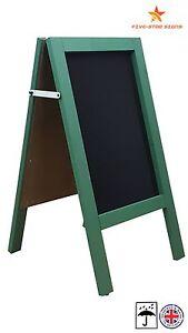 GREEN - A BOARD - PAVEMENT BOARD - CHALKBOARD - PAVEMENT SIGN