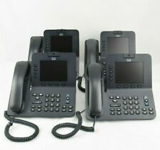 Cisco CP-8945 Office Video Phone Lot of 4