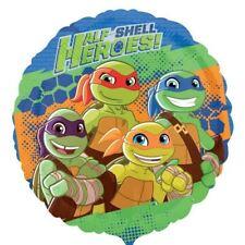 Tortugas Ninja Mutantes Turtles Medio Carcasa HEROES 18cm Redondo
