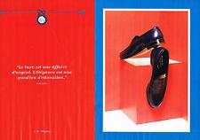 PUBLICITE ADVERTISING 025  2014  J.M WESTON   boutique chaussures homme (2p)