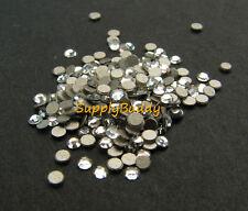 144 x Swarovski Flatback Crystal Clear ss3 (1.4mm) Small Nail Design Rhinestone