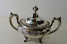 Burgundy by Reed & Barton - Sterling Silver Sugar Bowl with Lid - No monos