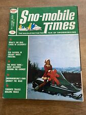 New Listing1971 November Snowmobile Times Magazine