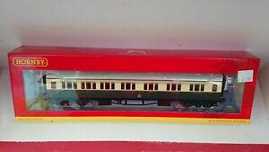 """Hornby R4682A GWR Collett Corridor Composite (LH) Coach """"6528"""" NEW"""
