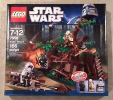 "LEGO Star Wars 7956 EWOK ATTACK Released 2011 BRAND NEW SEALED ""RETIRED"""