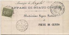 P520  Ferrara  PIEVE di CENTO  1883