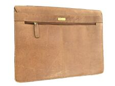 Brown Leather Laptop Bag Briefcase