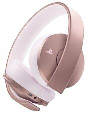 Sony Gold Wireless 7.1 Surround Playstation PS4 Headset - Rose Gold