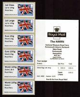 Post & Go NMRM Union Flag Collectors Strip - 2020 Rates v2 Zone 1&3