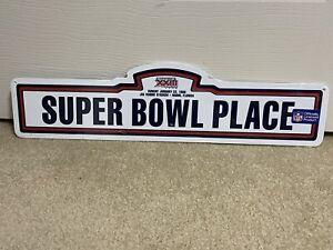 NFL Super Bowl XXIII Place 5.25 x 20.5 Sign January 22, 1989 49ers vs. Bengals
