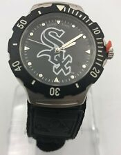 Chicago White Sox Sports MLB Baseball Men Game Time Designer Watch New in Box