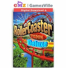 RollerCoaster Tycoon: Deluxe Steam Key PC Digital Download