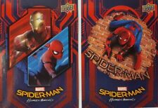 SPIDER - MAN HOMECOMING  2017 RETAIL Trading Card Set of  50 WALMART