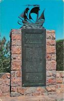 San Diego-Point Loma California~Cabrillo Plaque~National Monument~1950s
