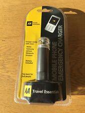 AA viajes esenciales-Cargador De Emergencia Teléfono Móvil-Nuevo y Sellado
