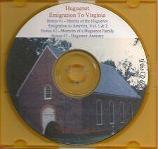 Huguenot Emigration to Virginia - Genealogy