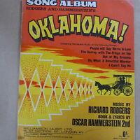 song album OKLAHOMA !  Rodgers & Hammerstein