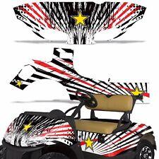 EZ Go Freedom RXV Golf Cart Graphic Kit Sticker Wrap Decal EZGO 2014+ R STAR